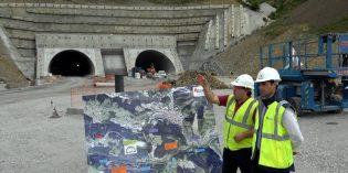 El túnel de Uretamendi estará listo a finales de año