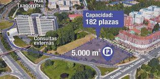 Vitoria contará con un nuevo parking en Txagorritxu