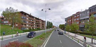 Irun licita el proyecto de carril bici en Avenida Letxunborro entre Zubimuxu y Puiana