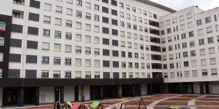 Arrancan las obras del frontón y la plaza de Burtzeña
