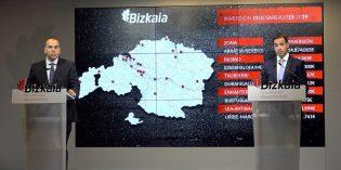 Bizkaia invertirá 58 millones en 24 actuaciones de mejora de la red viaria de carreteras