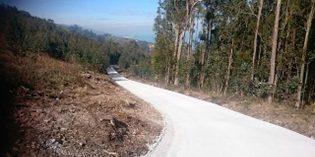 Muskiz adjudica las obras de la renovación de las curvas del Camino a Monte Atrás