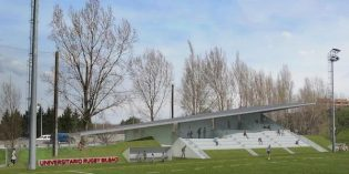 Bilbao inicia la construcción de una grada cubierta en el polideportivo de El Fango