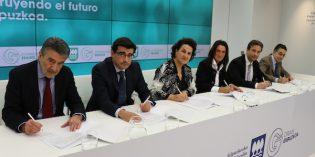 Diputación, empresas y gremios de la construcción firman un convenio para mejorar la competitividad del sector