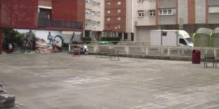 Barakaldo realiza la reforma  en Francisca Eguiluz, en el barrio de Retuerto
