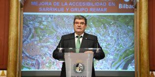 Bilbao invertirá 1,3 millones en obras de accesibilidad en los grupos Sarrikue y Remar