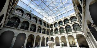 El claustro del Museo Vasco tendrá una cubierta de vidrio en 2018