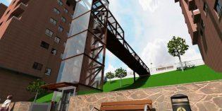 Abanto construirá un ascensor que unirá el paseo Blasco Ibáñez al centro de Gallarta