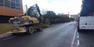 Vitoria inicia las obras para ampliar las aceras en la calle San Ignacio de Loyola