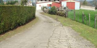 Irun reparará el camino rural Etxeberri