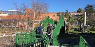 Ortuella eliminará la pasarela de la Sagrada Familia