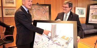 La última torre de Garellano será el  edificio residencial más alto de Euskadi