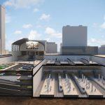 La estación de Abando tendrá dos plantas soterradas y una entreplanta de vestíbulo