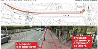 Vitoria construirá un carril-bici en la calle Portal de Lasarte