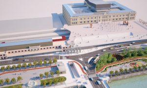 Luz verde al proyecto constructivo de la estación de alta velocidad de Donostia
