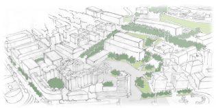 Leioa plantea la modificación del centro urbano con el derribo del Grupo Elexalde