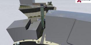 Eibar inicia la construcción de un ascensor que unirá el centro con Jardiñeta y Aldatze