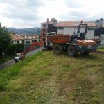 Muskiz inicia la urbanización del parque de juegos infantiles de Las Acacias