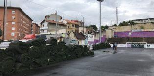 Santurtzi cambiará  el césped de los campos de fútbol de San Jorge y San Pedro