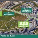 Vitoria reformará Leza y Portal de Zuazo, en Zabalgana, y también Portal de Legutiano