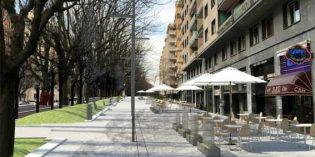 Donostia remodelará las aceras impares de la Avenida de Sancho el Sabio