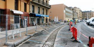 Donostia inicia las mejoras de la calle José Miguel Barandiaran