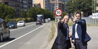 Diputación de Bizkaia y Ayuntamiento de Iurreta mejorarán la N-634