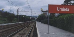 Adif inicia las obras de acondicionamiento en las estaciones de Andoain, Ordizia y Urnieta