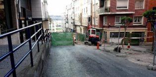 En marcha la primera fase de la urbanización de la calle Danok Bat, en Portugalete