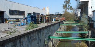 URA inicia en Sondika las obras de encauzamiento del río Asua