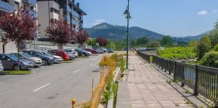Gernika mejora la urbanización de la calle Uharte