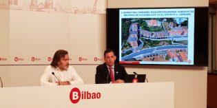 Bilbao comenzará a mediados de mes las obras que acercarán Uribarri a Deusto
