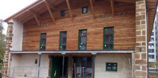 Trapagaran inicia la segunda fase de rehabilitación del caserío Aiestaran
