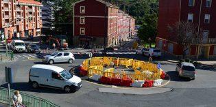 Trapagaran inicia la construcción de la rotonda de Primero de Mayo