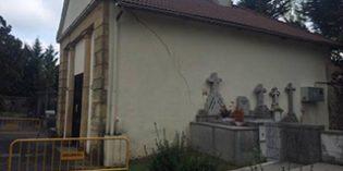 Gernika invierte 57.859 euros en la reparación de la capilla del cementerio