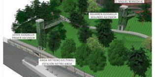 Getxo construirá dos ascensores que unan Neguri y la estación de Aiboa