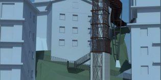 Eibar tendrá un nuevo ascensor que unirá las calles Tiburzio Anitua y Karlos Elgezua