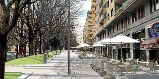 Donostia licita la reforma de las aceras de Sancho el Sabio