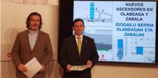 Bilbao tendrá nuevos ascensores en Olabeaga y Zabala