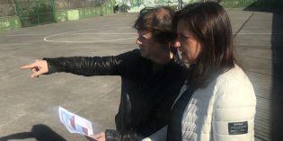 Santurtzi cubrirá el patio del colegio Emilia Zuza