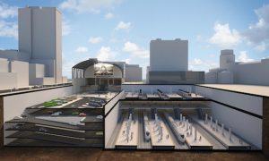 Sale a información pública el soterramiento de la estación del TAV en Bilbao