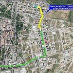 El tranvía a Salburua llegará hasta la avenida Juan Carlos I