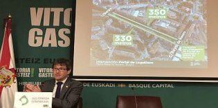 Vitoria invertirá 235.826 euros en reformar las calles Portal de Legutiano y Portal de Zuazo