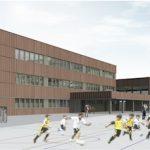 Presentado el anteproyecto del nuevo edificio de Zumaia BHI