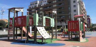 Barakaldo invertirá 200.000 euros en la cubierta de los columpios de la Plaza Desierto