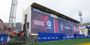 Lakua aportará 1 millón de euros para la remodelación del estadio de Ipurua