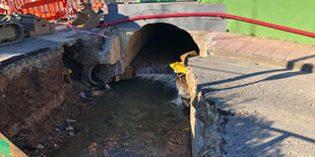 Muskiz reparará las galerías de aguas pluviales junto al colegio San Juan