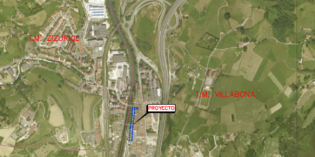 URA conectará el colector entre la calle mayor de Villabona y el río Oria con el colector principal