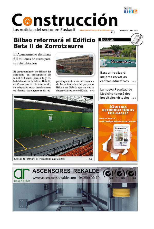 Ya ha salido el número de Julio del Periódico Construcción!!!