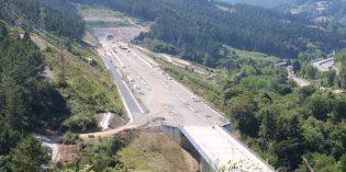Adif finaliza las obras de plataforma del tramo Lemoa-Galdakao